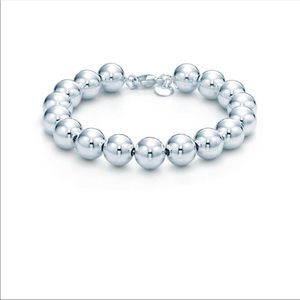 Authentic Tiffany Silver Bead Ball bracelet